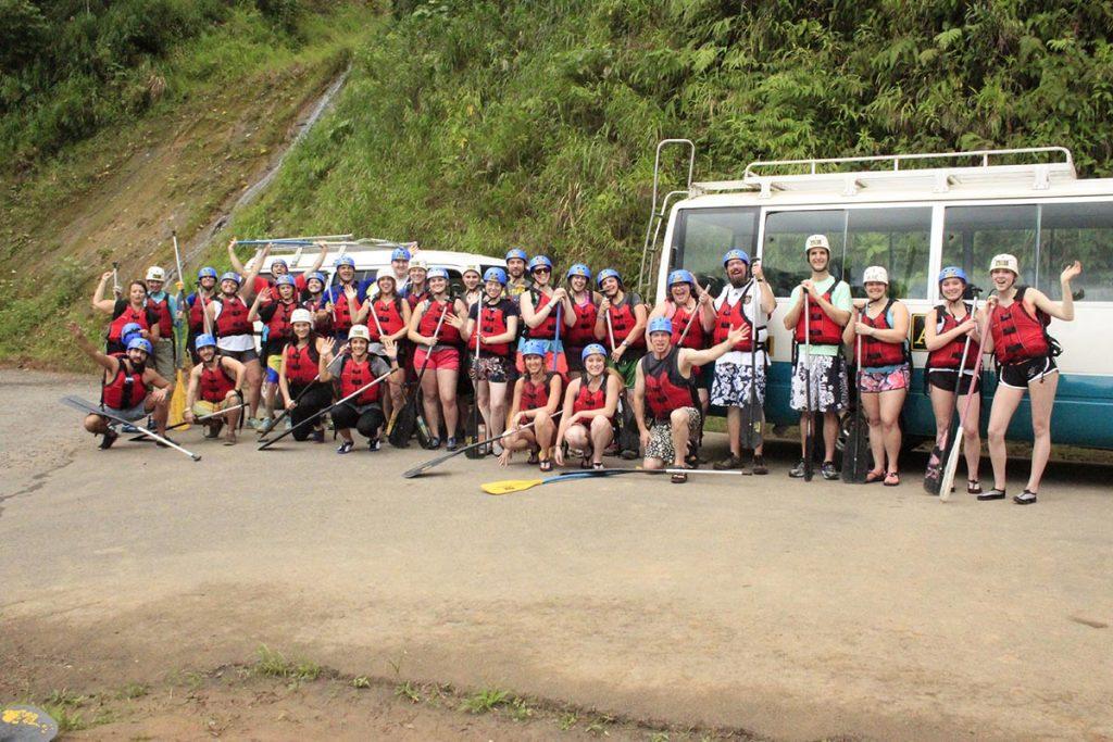 White Water Rafting La Fortuna