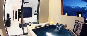Oceano Deluxe Two Bedroom Condo With Spa