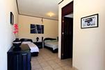 Blue Palm Double Room